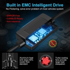 Image 4 - Mini Canbus ampoules Led H4, H1 H3 H8 H11 HB3 9005 HB4 9006 lampes antibrouillards, Turbo 16000LM