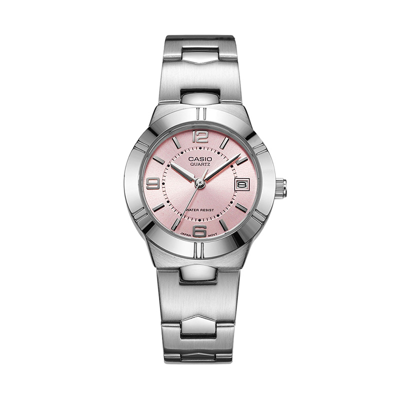 Casio Watch double 11 Pointer series elegant fashion quartz Ladies Watch LTP-1241D-4A casio ltp e403d 4a