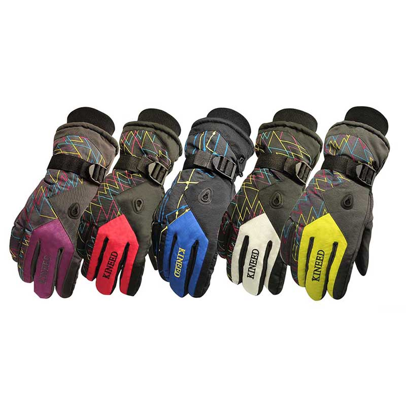 Windproof Wear Resistant Riding Ski Gloves Personalized Mountain Skiing Snowmobile Waterproof Snow Motorcycle Gloves New