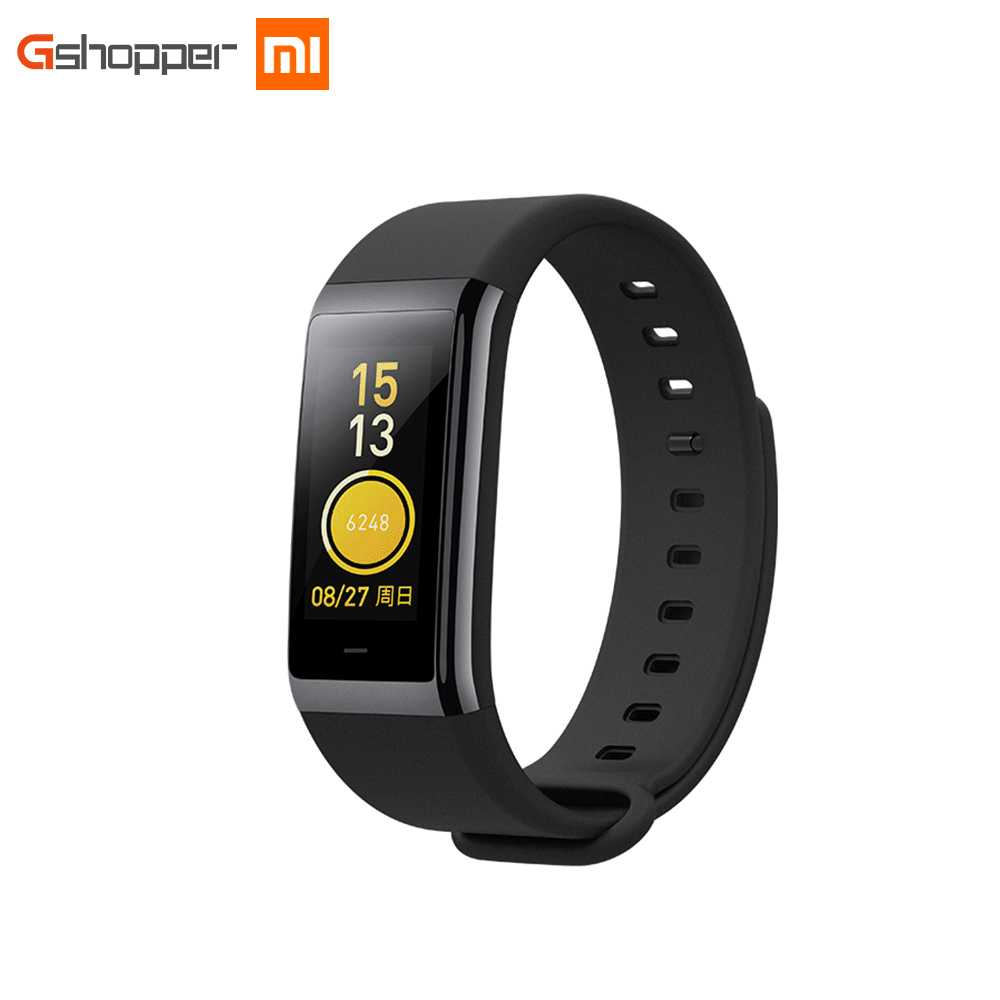 Huami AMAZFIT Smartband Bracelet Bluetooth 4.1 Smart Band GPS Heart Rate Monitor 50m Swimming Waterproof 12 Days Battery Life