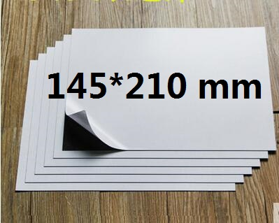 1/3/5/10pcs A5 Self Adhesive Magnetic Rubber Sheet 0.5mm Sticky Flexible Magnet 14.5 X 21cm