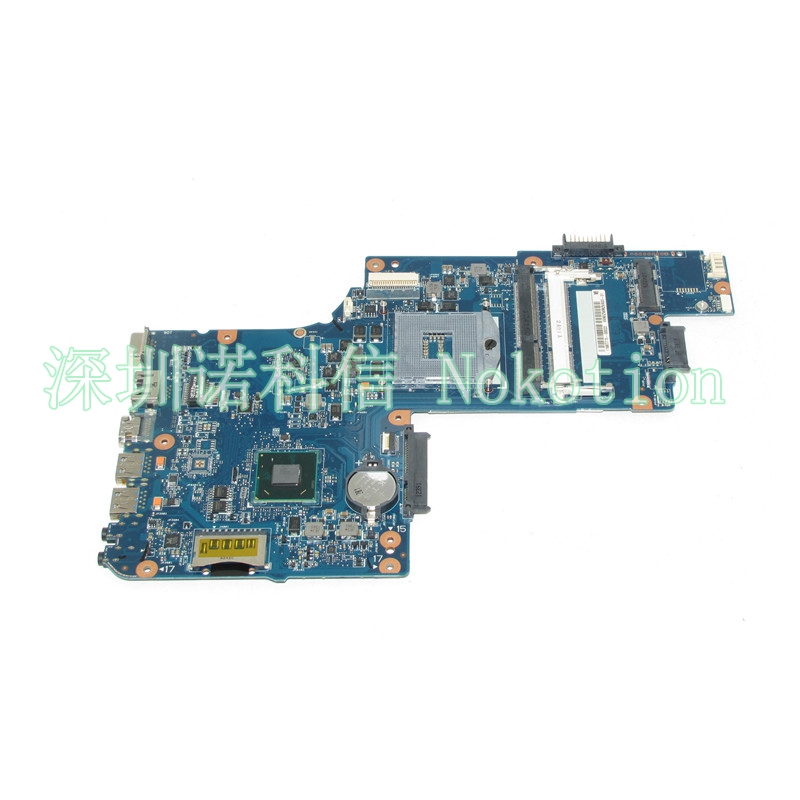 NOKOTION H000052610 Laptop Motherboard For Toshiba Satellite C850 L850 SJTNV HM70 DDR3 Mainboard Free CPU nokotion for toshiba satellite c850 laptop motherboard 15 6 hm77 hd4000 graphics ddr3 h000052700 mainboard