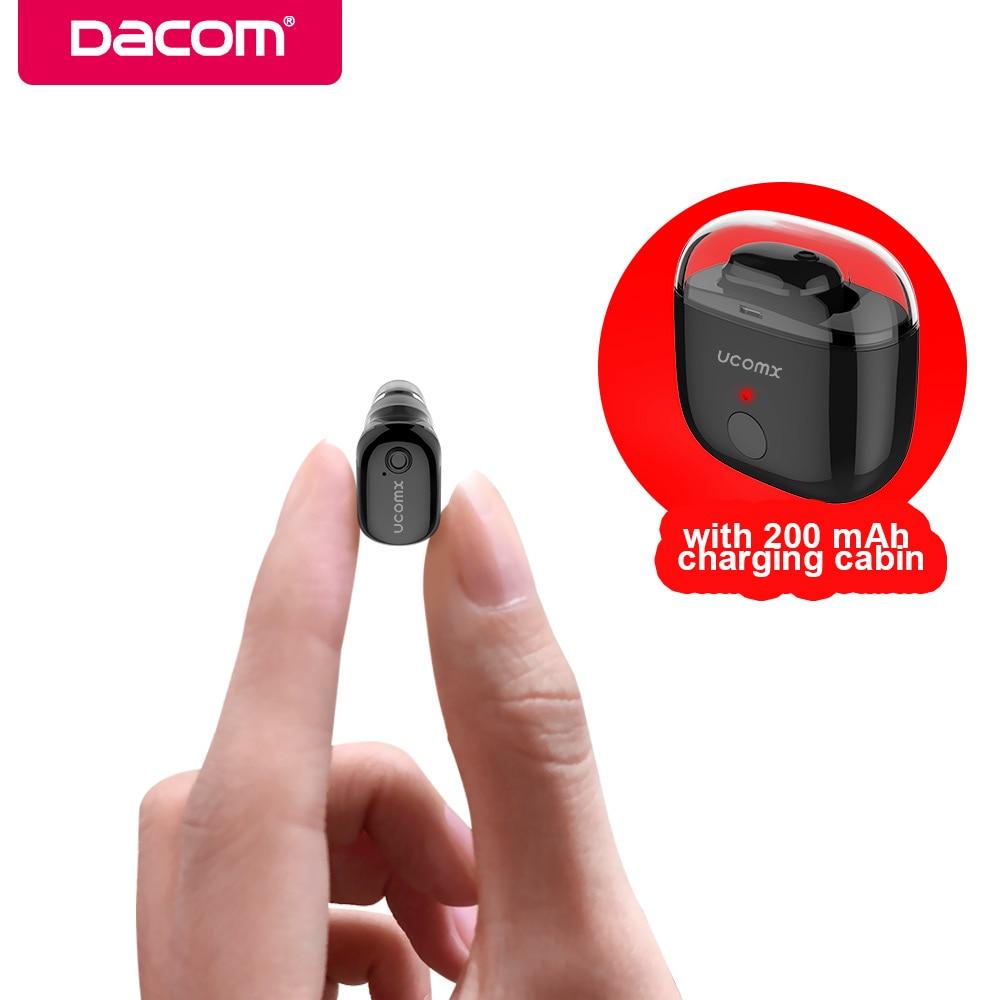 UCOMX U6 U6P Mini Bluetooth Earphone Wireless Small Mono Earbuds Hands Free Invisible Earpiece For Apple