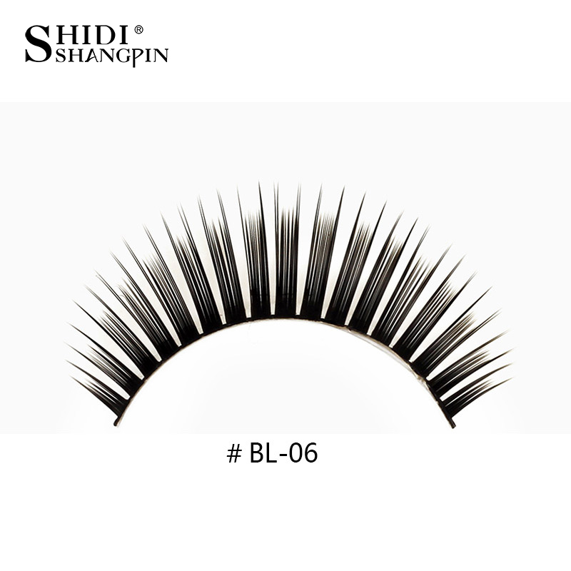 L06 False Eyelashes Make Up Lashes Halloween Lashes Thick Maquillage