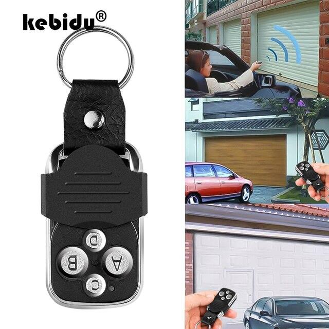 Kebidu 433Mhz 4 ערוץ עותק שיבוט שיבוט מעתק משדר שלט רחוק מתג מתגלגל קוד למוסך דלת