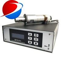 high precision ultrasonic welding generator 20khz 15khz for File Folder ABS PP PVC Non woven MAGIC TAPE welding machine