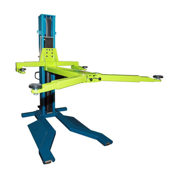 Made In China Movable Single Column Lift Hydraulic Lift Car Repair Equipment Electric Unlock