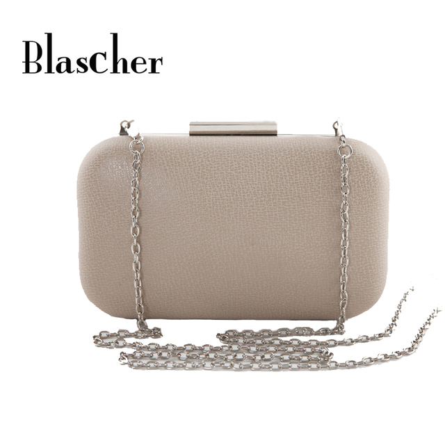 2017 New Famous Designers candy-color Women PU Leather Bag Mini Clutch Bag Wedding Socialite Banquet Hand Bag HBF15