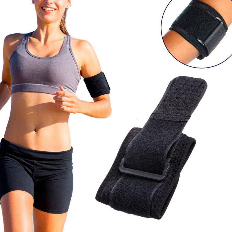 Mayitr 1pc Adjustable Comfortable Sport Wrist Brace Wrap Gym Strap Professional Men And Women Support Protection Black