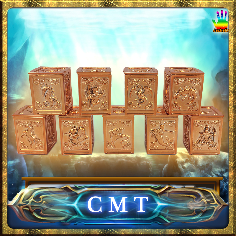 CMT Jacksdo JSD Saint Seiya Scale Cloth Poseidon Pandora Boxes Set cmt jacksdo saint seiya soul of god bronze pandora boxes full set