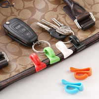 2 pcs Practical Anti Lost Key Clips Key Holder Built-in Bag Inner Hooks Bag Parts & Accessories