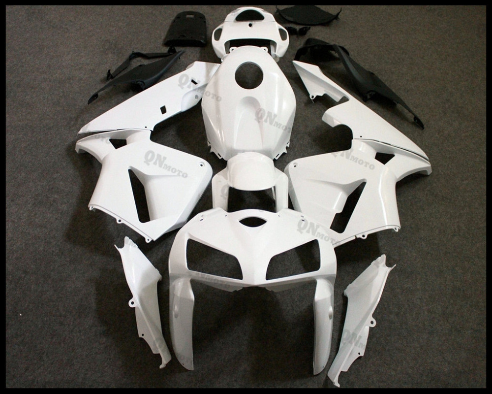 Motorcycle ABS Unpainted White Fairing Kit For Honda CBR600RR CBR600 RR CBR 600RR 2005-2006 F5 + 3 Gift for honda cbr600rr 2007 2008 2009 2010 2011 2012 motorbike seat cover cbr 600 rr motorcycle red fairing rear sear cowl cover