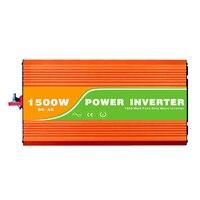 Digital 48VDC (40 60V) 1500W Off Grid Inverter to 100 240VAC Ouput, Surge 3000W Pure Sine Wave Solar Wind Inverter with USB