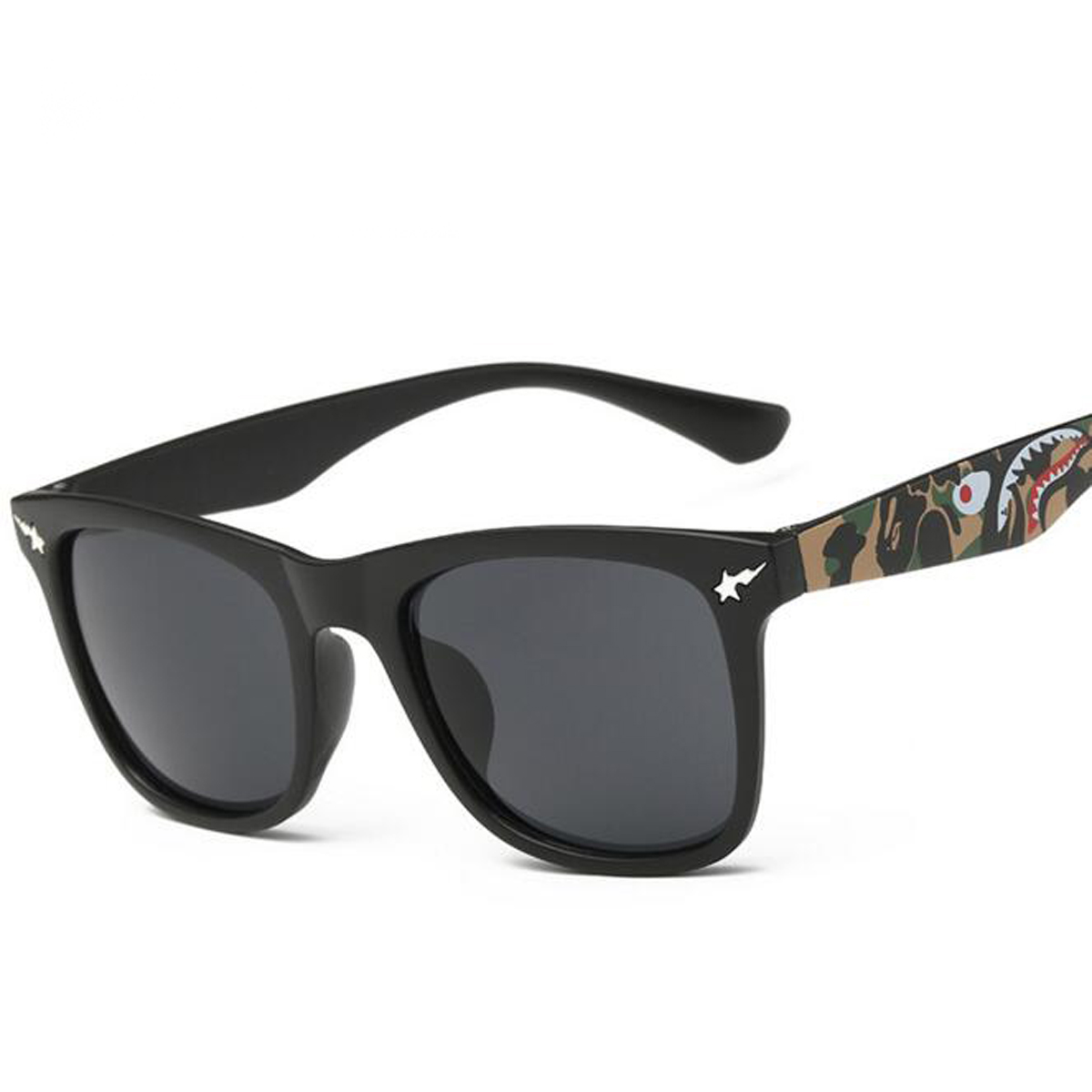 men women vintage camo frame sunglasses feminino unisex gafas de sol mujer mirrored lens sport eyewear