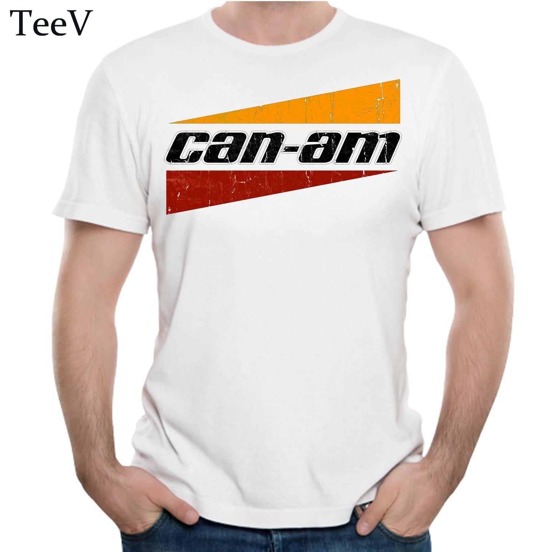 Cool Can Am Off Road Brp Atv Commander Utv Outlander T Shirt Man 2018 3d Print Cotton Homme Tees Big Size Camiseta