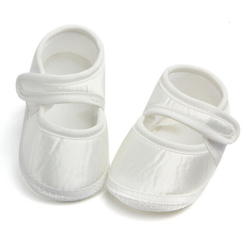 First Walkers Toddler Baby Shoes Newborn Girls Soft Soled Princess Crib Shoes Prewalker 0-6M