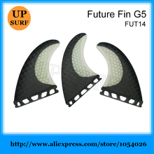 Barbatana Surf Yellow Black Carbon Fin Surfing Future Fins SUP Board Fin