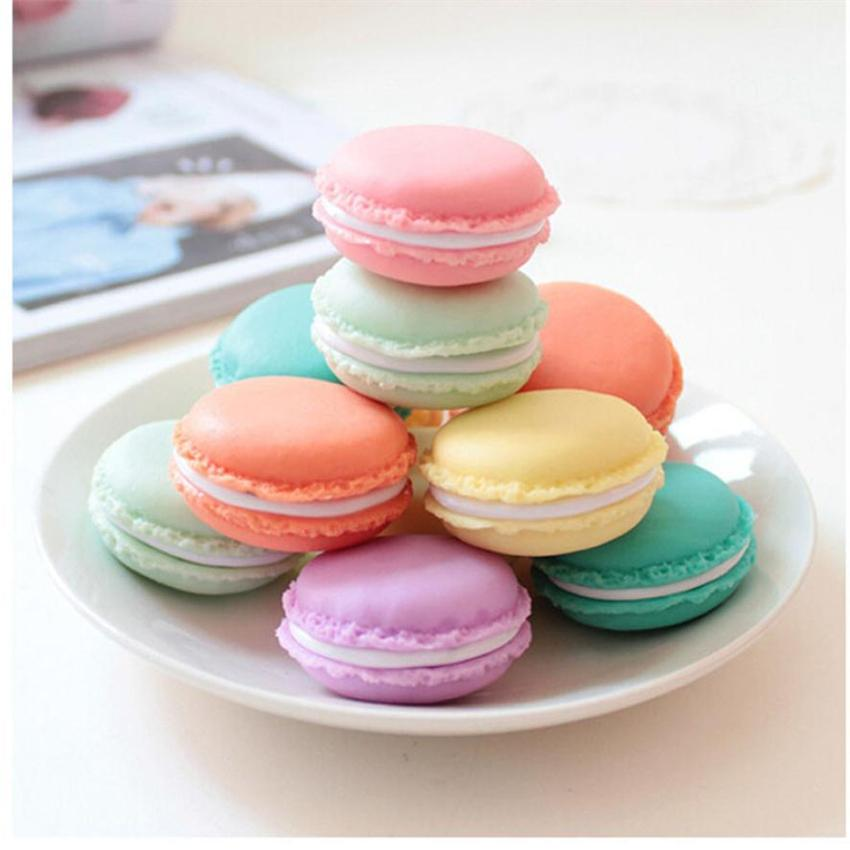 Super Deal Storage Box 6 PCS Mini Earphone SD Card Macarons Bag Storage Box Case Carrying Pouch