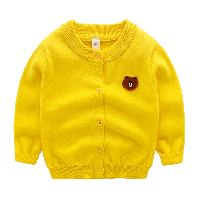 autumn children boys sweater coat baby boy cotton cardigan jacket