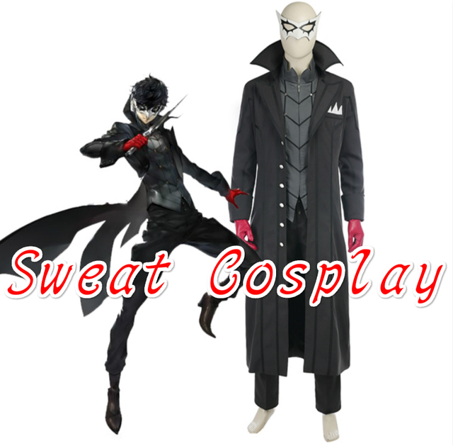 high quality persona 5 protagonist cosplay costume halloween costumes fancy game hero suit protagonist arsene costume