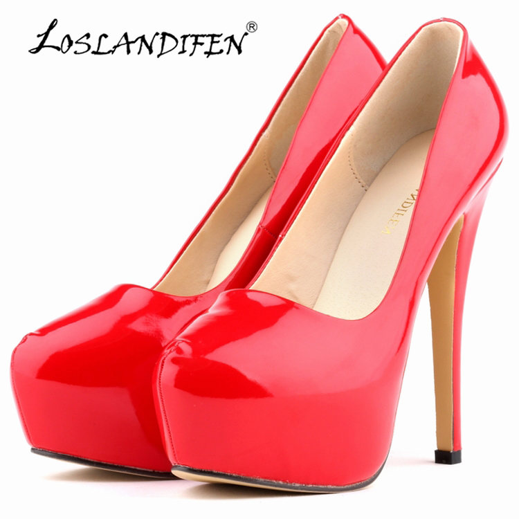 Promotion Limited Women Shoes Ultra-stilig nattklubb stil skor Bridal Super High Heels Vattentät Lorrain Tiffin 817-1PA