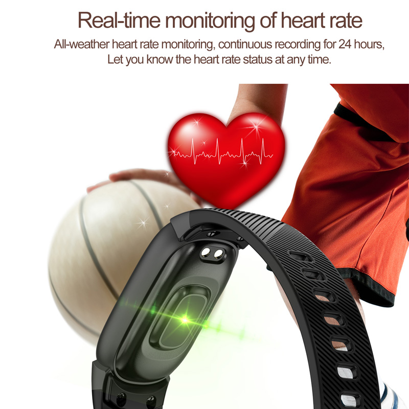 Image 2 - TLXSA Smart Bracelet Fitness Tracker Heart Rate Monitor Smart Band Waterproof Pedometer Sport Wristband For Women Men Smartwatch-in Smart Wristbands from Consumer Electronics