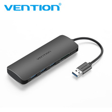 Vention High Speed 3 Ports USB 3.0 Hub With Card Reader Portable OTG Hub USB Splitter SD TF Reader for Macbook Laptop PC Tablet