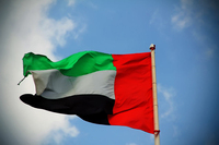 UAE National Flag New 3x5ft Indoor/Outdoor National Flag Banner 1157, free shipping