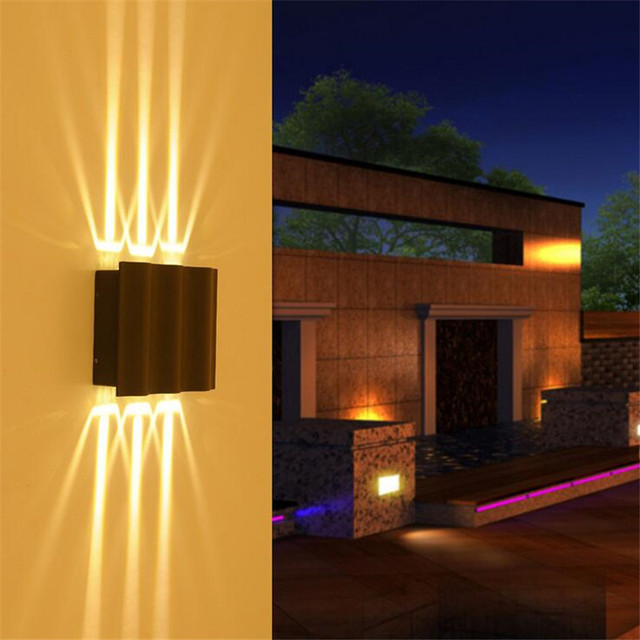 Wasserdichte Outdoor 18 W 12 W 6 W Led Wand Lampe Led Strahler