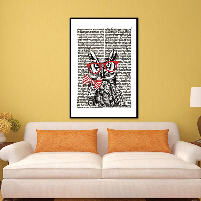 Funky Owl Wall Art For Nursery Frieze - Wall Art Collections ...