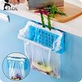 1 PC Saco de Lixo Rack De Plástico Dobrável Portátil Saco de Lixo de Lixo Pendurado Titular Rack De Armazenamento de Rack de Armazenamento de Cozinha Gadgets