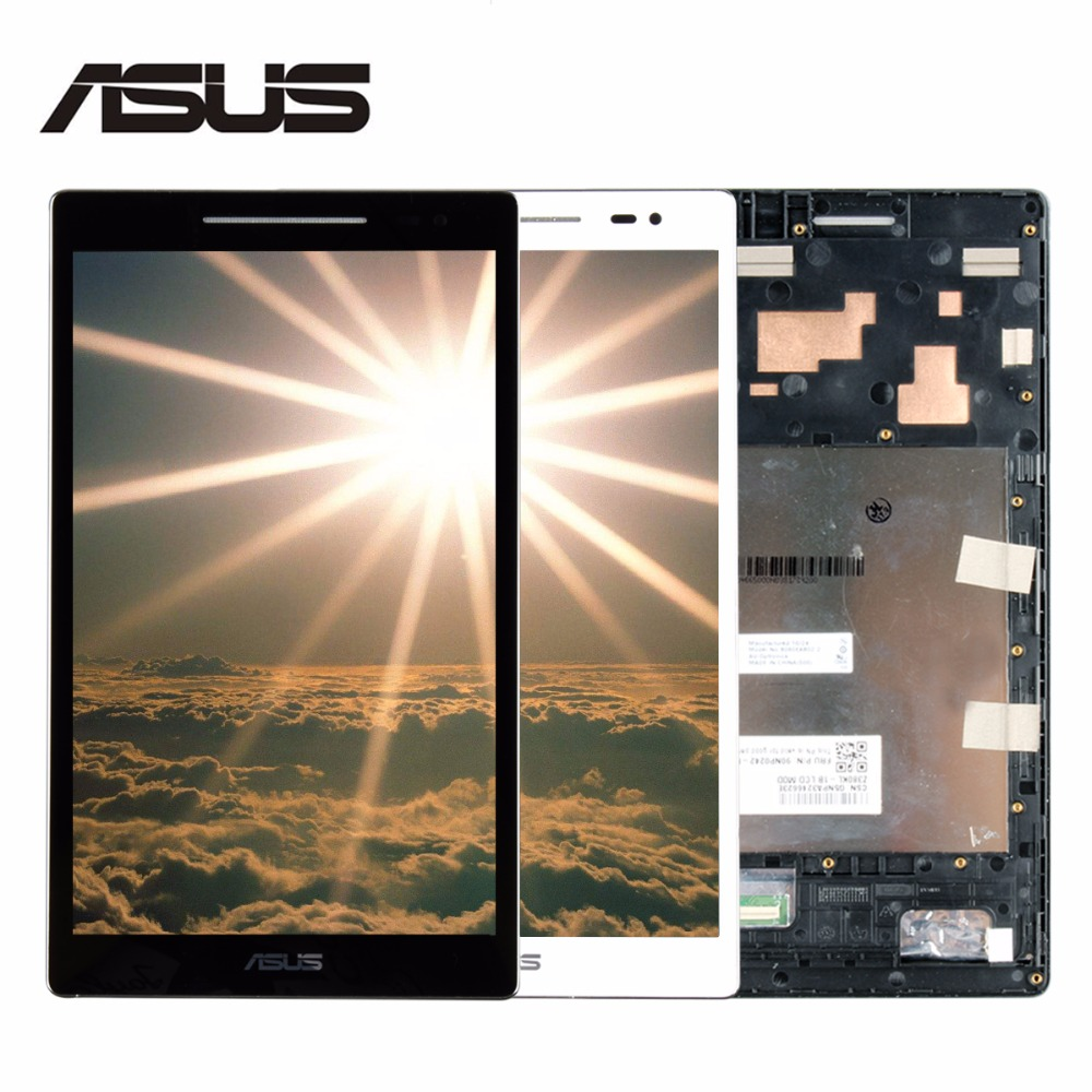 Original LCD Display Touch Screen with Frame Assembly For ASUS ZenPad 8.0 Z380 Z380KL Z380C Matrix Screen Tablet Replacement  high quality for zte 9130 lcd display with touch screen assembly with frame black replacement parts free tracking