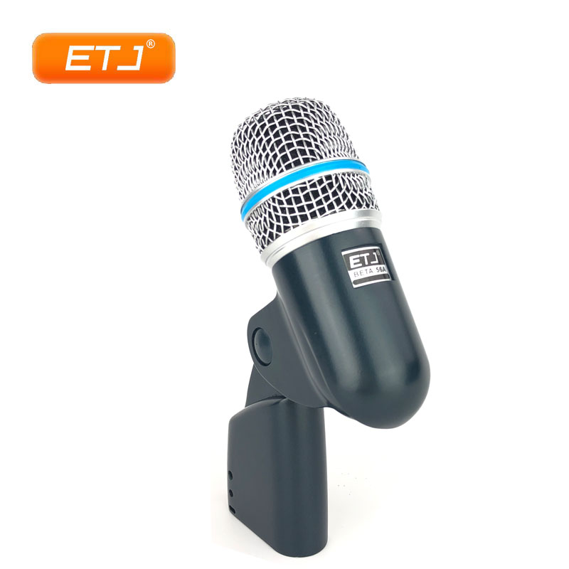 Drum Kit Microphone Beta56A Beta Percussion Instrument Dynamic Microphone Drum Microphone цена 2017