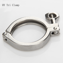 "Tri Clamp Cover 304 stainless steel Sanitary Quick Release cover 1.5"" 2"" 2.5"" 3"" 4"" Tube Clamp Chuck"