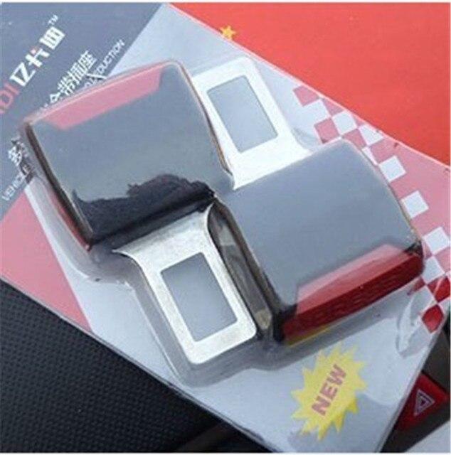 Ceintures de siège universel pour voiture, extensions de sangle, avec boucle, accessoires automobiles