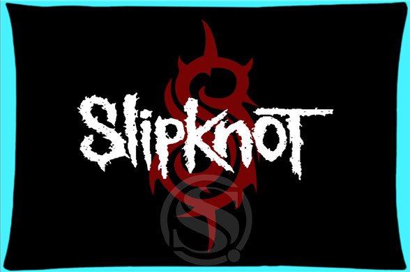 Soft <font><b>Pillow</b></font> <font><b>Case</b></font> Cover 20*30 Inch (Twin sides)Zippered Pillowcase Heavy Mental Band Slipknot Logo Gift Design image