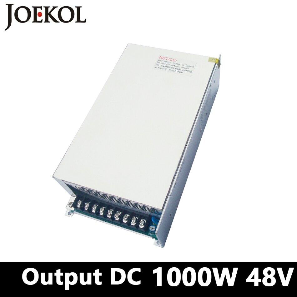 High-power switching power supply 1000W 48v 21A,Single Output ac dc converter for Led Strip,AC110V/220V Transformer to DC 48V
