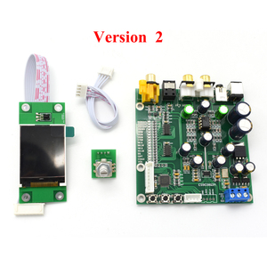 Image 4 - ES9038 OLED Q2M DAC DSD תמיכת מפענח IIS DSD קואקסיאלי סיבי קלט 384 KHz DOP D5 001