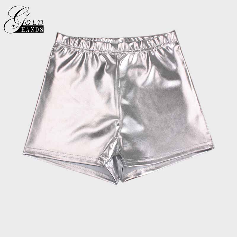 Gold Hands Spring Fashion Womens Shorts Europe and the United States Red Sexy Fitness Jack Metal Wild Beauty Shorts Free Mail