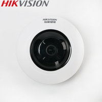 HIKVISION DS 2CD3955FWD IWS 5MP Fisheye Camera 360 View IP Camera Support WiFi SD Card PoE IR Hik Connect P2P App