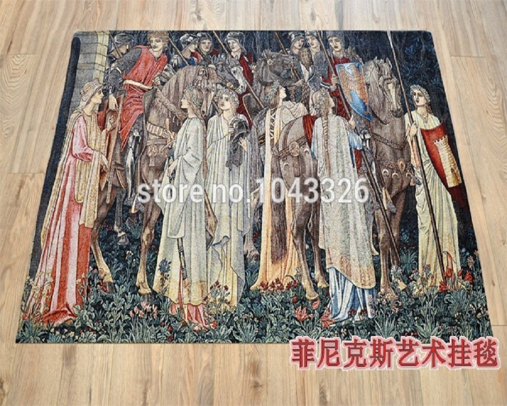 high-grade cloth sitting art