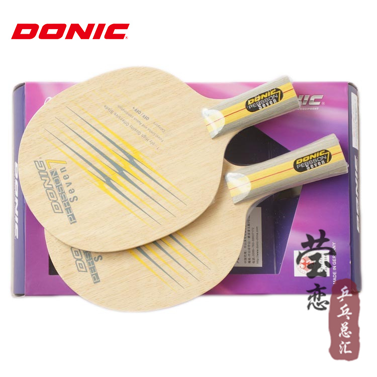 Original Donic PERSSON SEVEN Table Tennis Blade Table Tennis Rackets Racquet Sports 22933 33933   Lam RenMu +  Ayoob