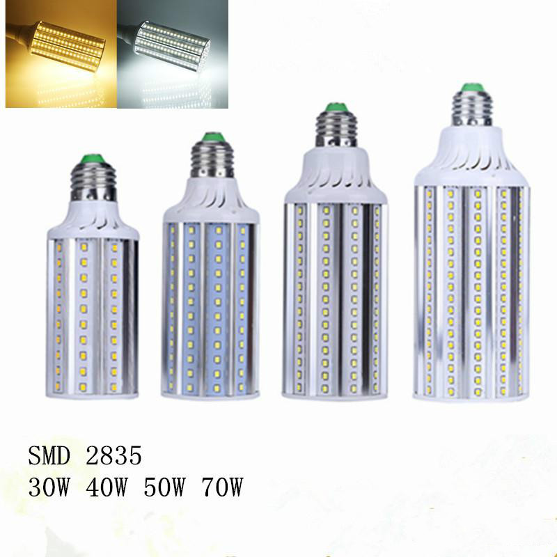E27 E26 E39 E40 LED Corn Bulbs Lamp SMD 2835 20W 28W 36W 50W LED Lights Garden Lights AC 85-265V energy efficient 7w e27 3014smd 72led corn bulbs led lamps
