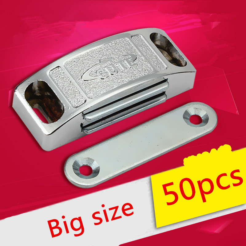 50pcs 58mm Wholesale Cabinet Door Catches Magnetic Touch Damper Buffers Stop With Screws For Kitchen Hardware50pcs 58mm Wholesale Cabinet Door Catches Magnetic Touch Damper Buffers Stop With Screws For Kitchen Hardware