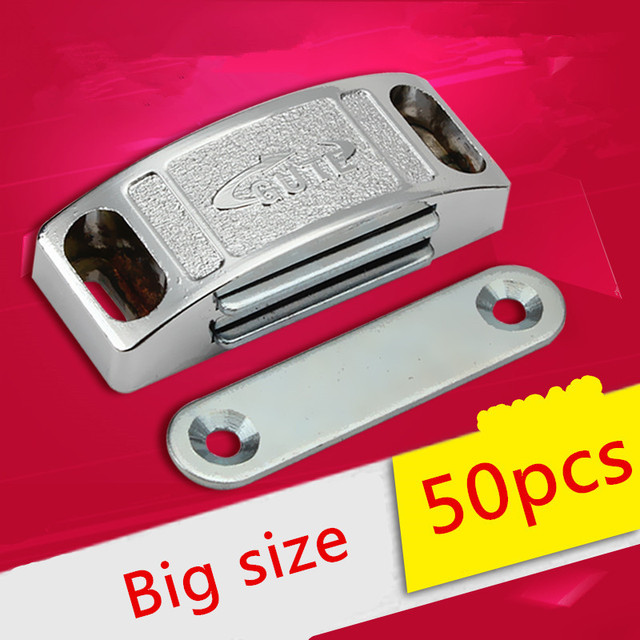 50pcs 58mm Wholesale Cabinet Door Catches Magnetic Touch Damper ...