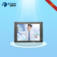 ZK120TC V591 12 Inch 800x600 4 3 HDMI Metal Shell Embedded Open Frame Wall Mounted Industrial