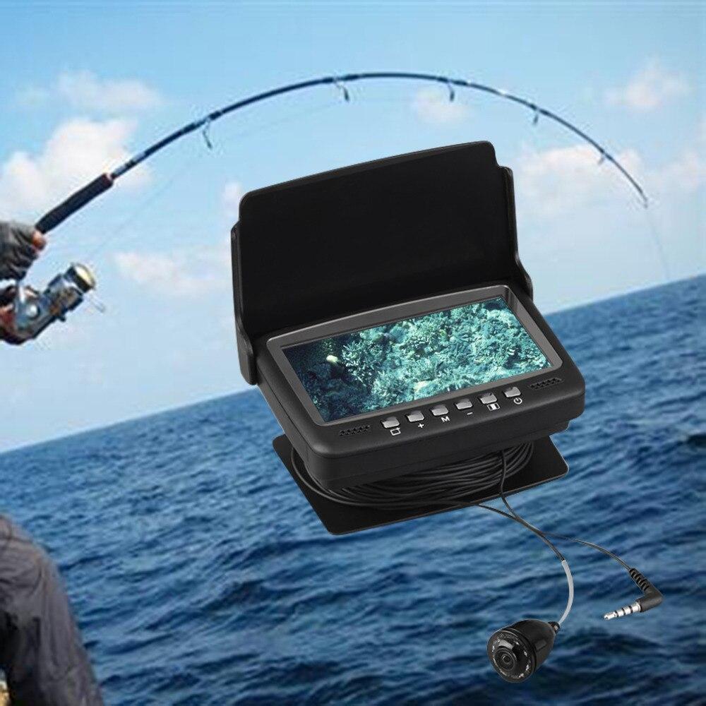 7hbs 30m 4 3 fish finder video underwater fishing camera for Underwater fishing camera