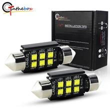 Gtinthebox C5W Lâmpadas LED Canbus 28mm 31mm 36mm 39mm 41mm Festoon luz com Auto Dome Lâmpada Da Placa de Licença Do Carro Interior Lâmpada 12 v