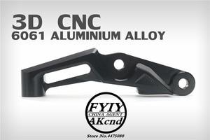 Image 4 - Motorcyle modification CNC aluminium alloy brake caliper bracket For yamaha SMAX155 FORCE 155 100mm brake caliper bracket
