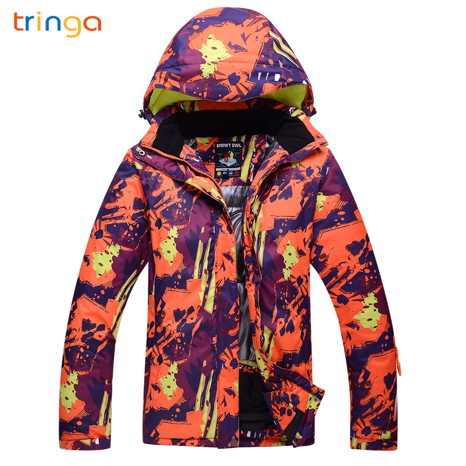 TRINGA Hot Ski Suit Women Brands 2018 New Outdoor Thermal Waterproof Windproof Breathable Snow Winter Ski Snowboard JacketsTRINGA Hot Ski Suit Women Brands 2018 New Outdoor Thermal Waterproof Windproof Breathable Snow Winter Ski Snowboard Jackets